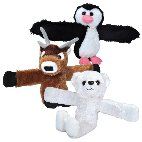 Huggers Plush Deer, Penguine, and Polar Bear
