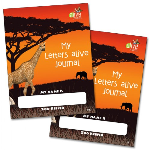 My Letters Alive PreK and Kindergarten Journals Set