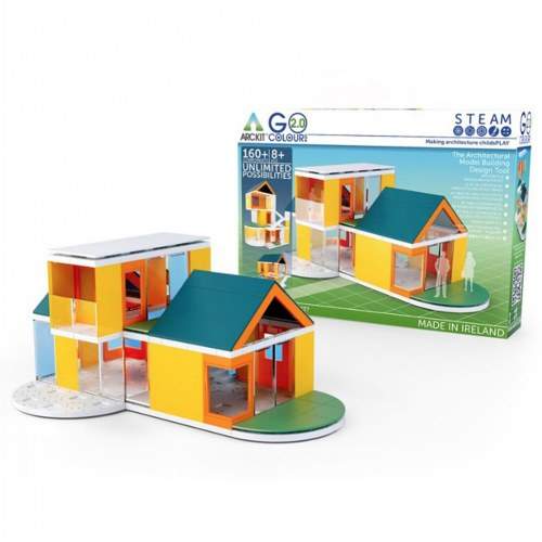 Arckit Architectural Model Building Kit: GO Colors 2.0 - 160 Pieces