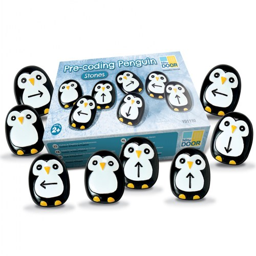 Alternate Image #9 of Pre-Coding Penguin Stones & Activity Cards