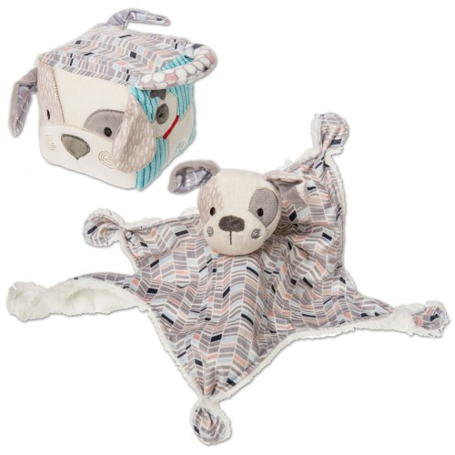 Decco Pup Character Blanket & Activity Cube