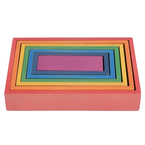 TickiT Rainbow Architect Rectangles