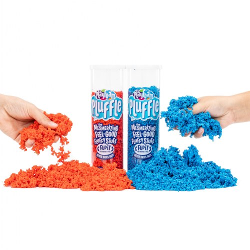 Alternate Image #1 of Playfoam Pluffle Bright Colors - 6 Pack
