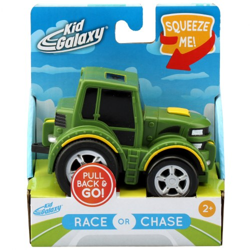 Alternate Image #5 of Pull-Back Race Car, Tractor and Dump Truck