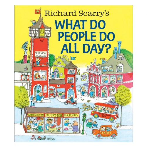 What Do People Do All Day - Hardcover Book