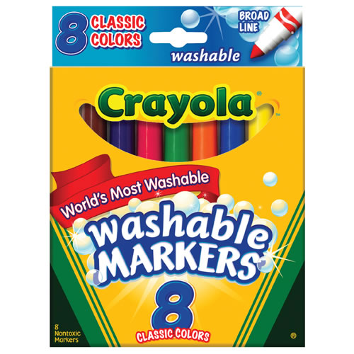 Crayola® Classic Colors Washable Marker Packs