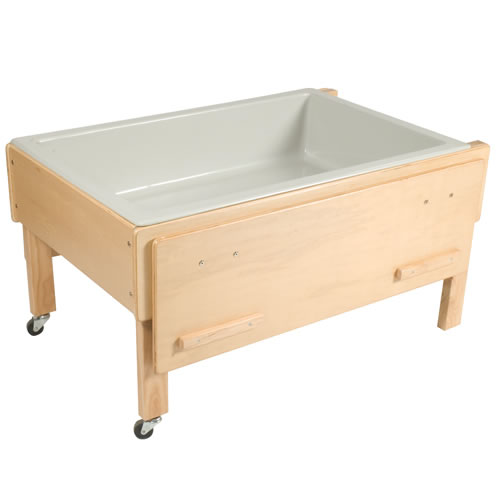 Alternate Image #2 of Full Size Deluxe Sand or Water Play Table with Top