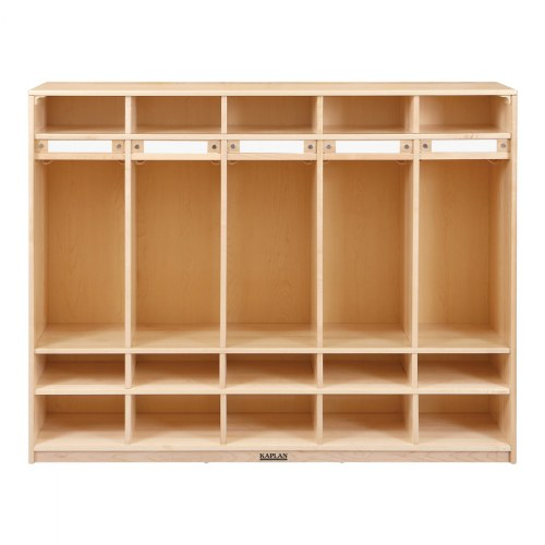 Alternate Image #1 of Premium Solid Maple Coat Lockers