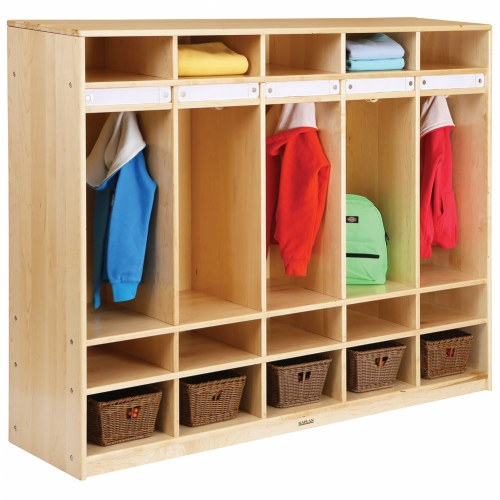 Classroom Furniture Canada ~ Premium solid maple coat lockers
