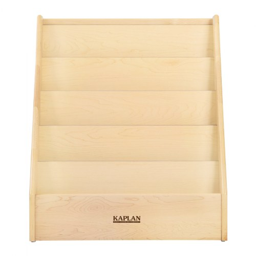 Alternate Image #2 of Premium Solid Maple 5-Shelf Book Display