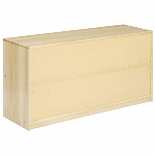 Alternate Image #2 of Premium Solid Maple 5-Compartment Storage Unit