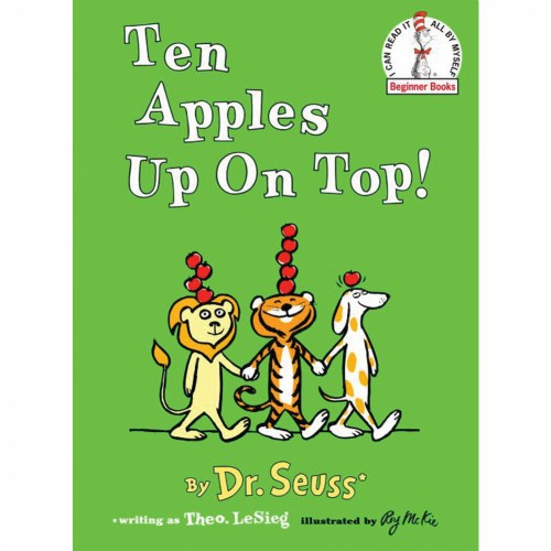 Ten Apples Up On Top - Hardback