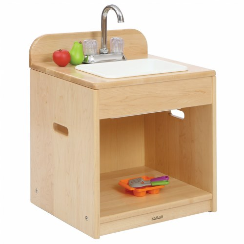 Premium Solid Maple Toddler Sink
