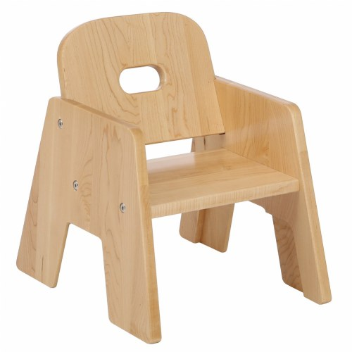 Premium Solid Maple Chairs - Set of 2