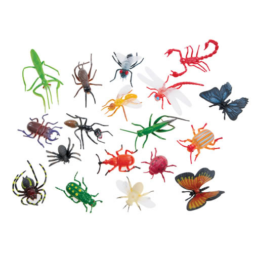 Plastic Bug Toys - Super Insect and Bug Figures
