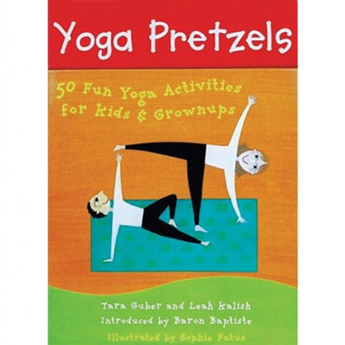 Yoga Pretzels 50 Fun Yoga Activities For Kids Grownups Card Deck