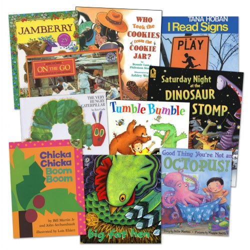 Nemours® BrightStart! Complete Program for Early Literacy Success: Level 1 Book Set