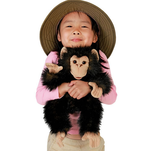 Alternate Image #2 of Baby Chimp Hand Puppet
