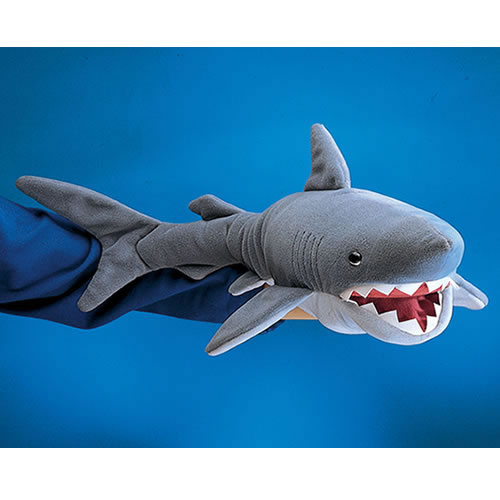 Alternate Image #3 of Shark Hand Puppet