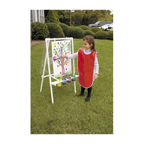 Alternate Image #2 of Acrylic Easel - Great for Use Indoor and Outdoor - Weather Resistant - Double-sided