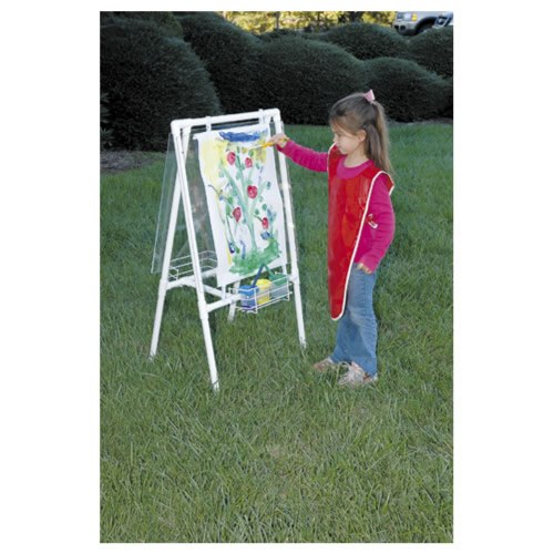 Alternate Image #3 of Acrylic Easel - Great for Use Indoor and Outdoor - Weather Resistant - Double-sided