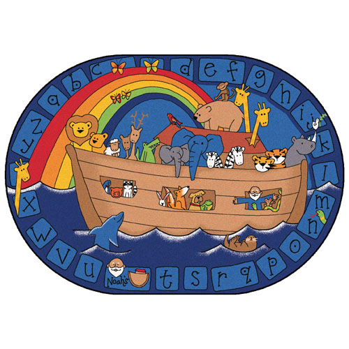 Alphabet Noah KID$ Value Plus Rugs