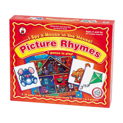 Alternate Image #1 of Pre-Reading Skills Set with Rhyming and Picture Sequencing Games