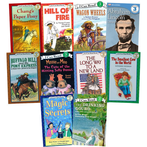 I Can Read Books Grades 2-4 (Set of 10)