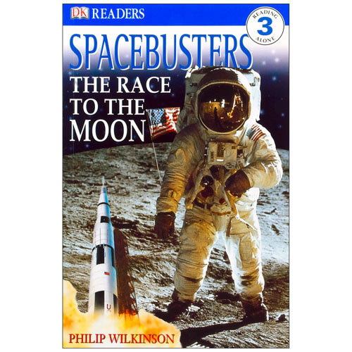 Spacebusters - The Race to the Moon Paperback Book