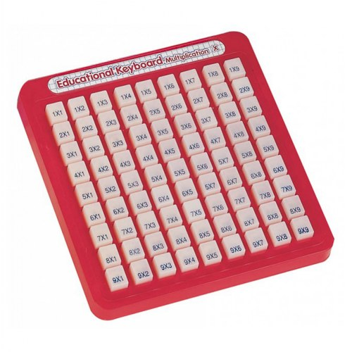 Educational Keyboard Multiplication