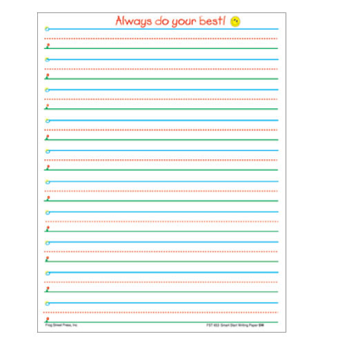 4 lined paper for english writing