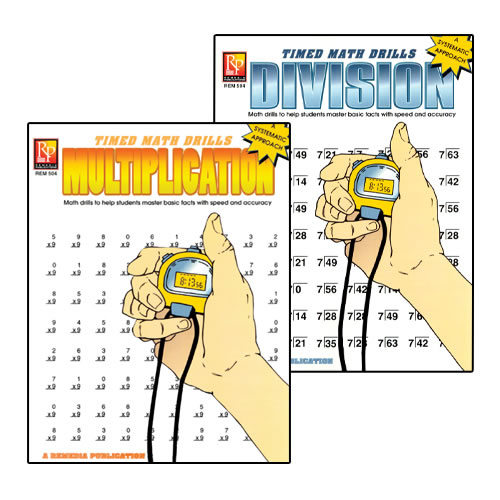 Timed Math Drills - Multiplication & Division