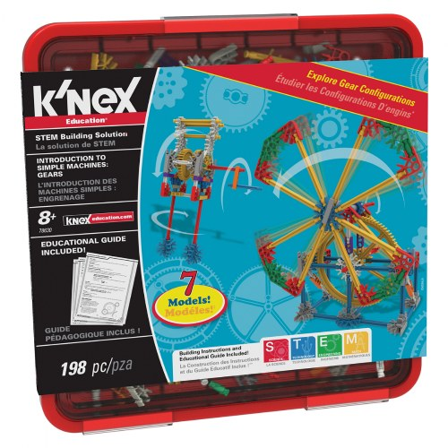 K'NEX® Introduction to Simple Machines: Gears