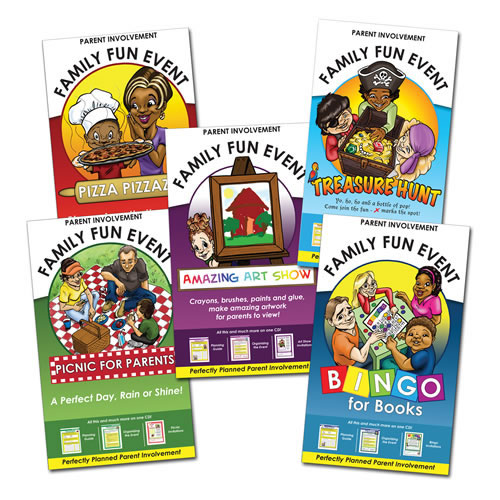 Family Fun Events Theme Kit Set
