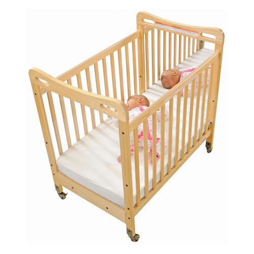 Safe Amp Sound Fixed Side Mirror Compact Crib