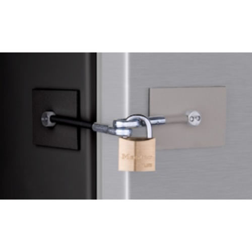 Refrigerator Door Lock Kit - Black / Gray