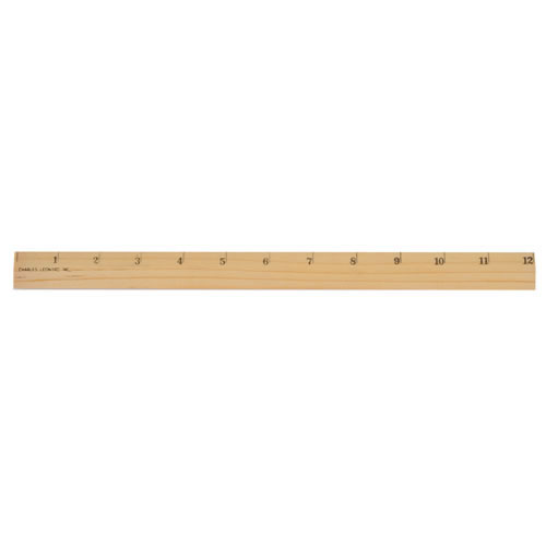 Alternate Image #1 of Wooden Rulers