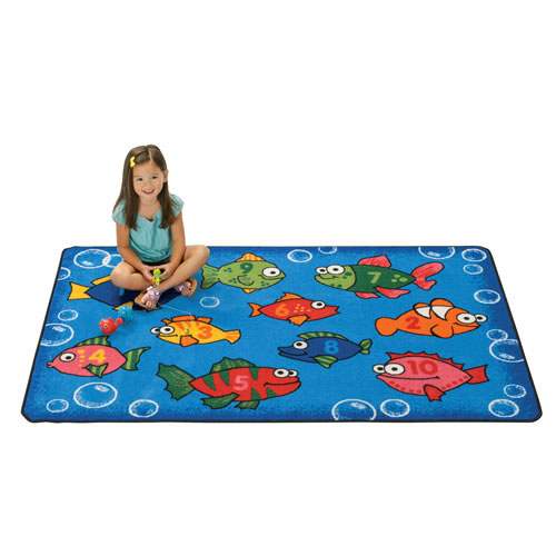 Something Fishy KID$ Value Rugs