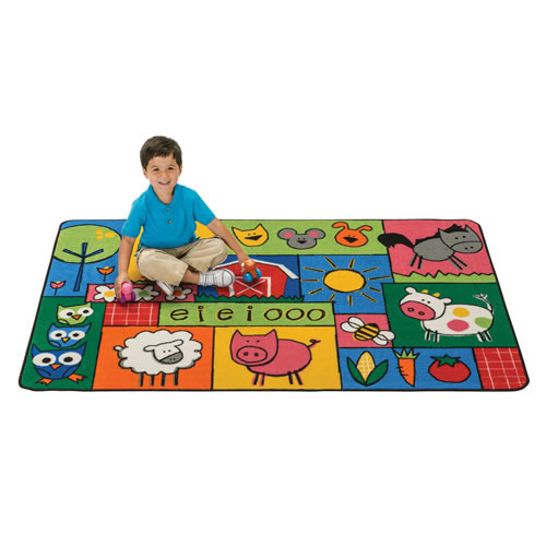 Old MacDonald Farm KID$ Value Rugs