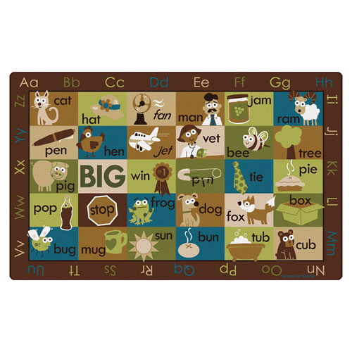 Rhyme Time Rug - Nature