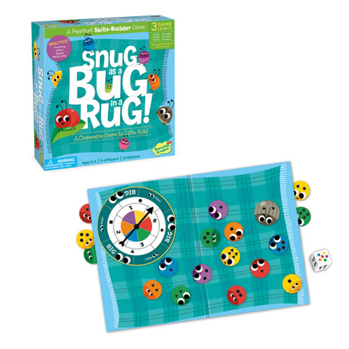 Snug as a Bug in a Rug Board Game