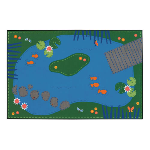 Tranquil Pond KID$ Value PLUS Rug - 8' x 12'