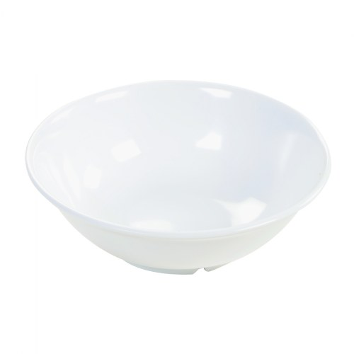 36 oz. White Footed Serving Bowl