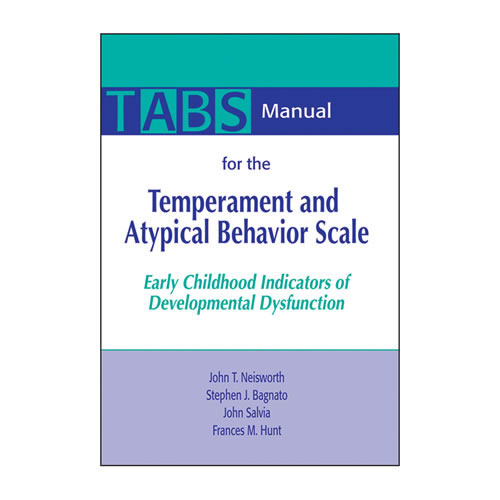 temperament and atypical behavior scale tabs screener early childhood indicators of developmental dysfunction