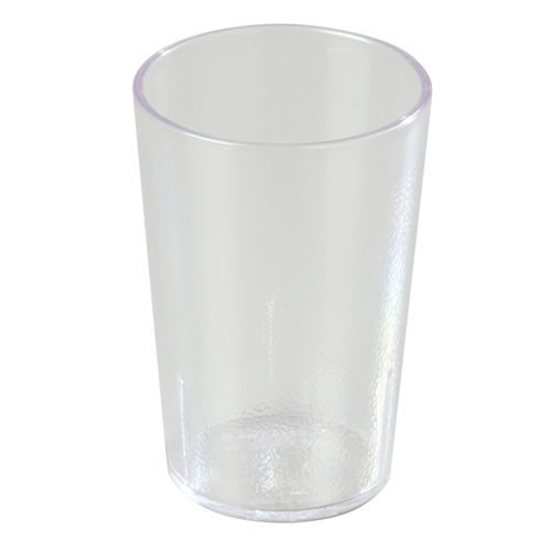 8 Oz Clear Stackable Tumbler Set Of 12