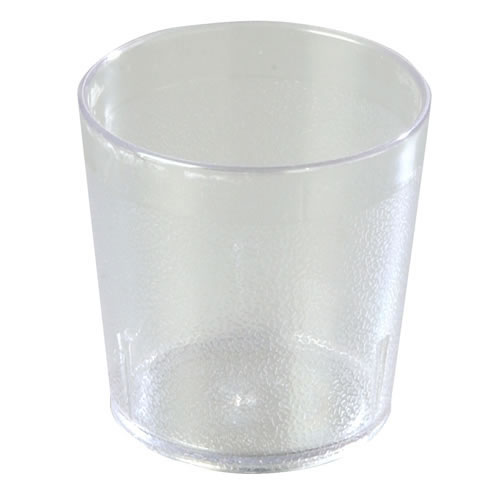 9 oz. Clear Stackable Tumbler - Set of 12