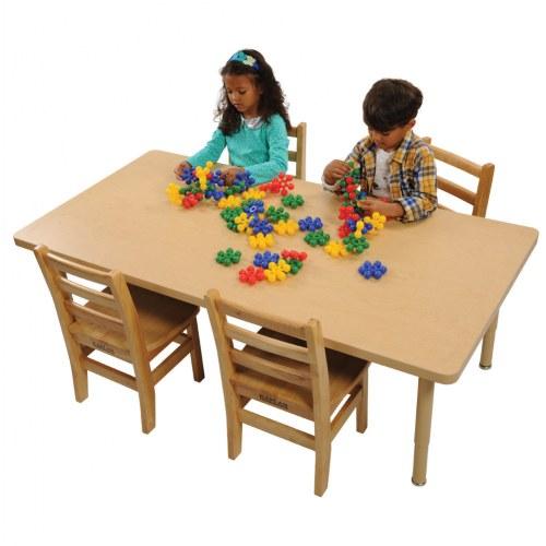 Carolina Laminate 24 Quot X 48 Quot Rectangle Tables Seats 6