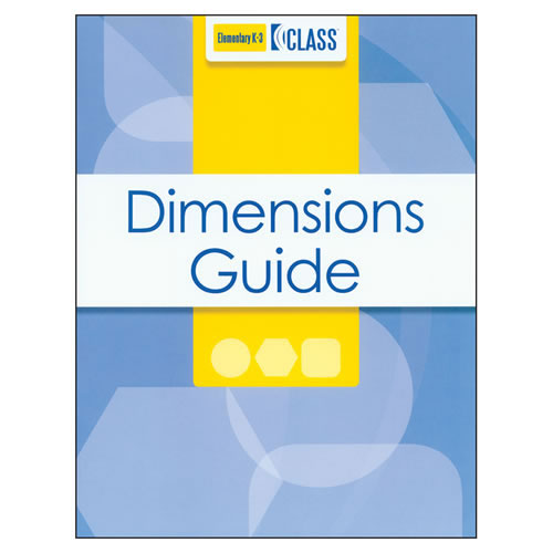 CLASS®Dimensions Guide, K-3 - English
