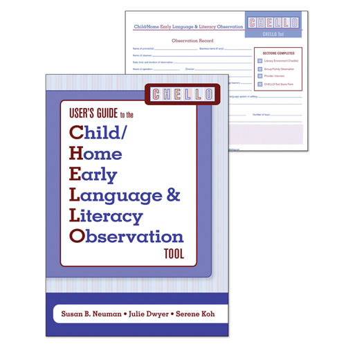 Child/Home Early Language and Literacy Observation (CHELLO) Set