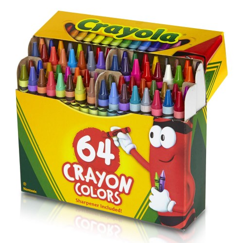 64 count crayons